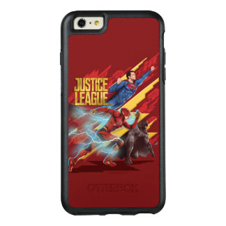 Funda Otterbox Para iPhone 6/6s Plus Superhombre de la liga de justicia el |, flash, y