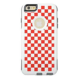 Funda Otterbox Para iPhone 6/6s Plus Tablero de damas rojo