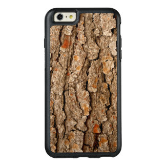 Funda Otterbox Para iPhone 6/6s Plus Textura de la corteza del pino