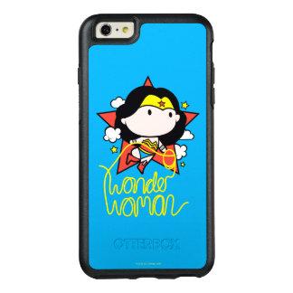 Funda Otterbox Para iPhone 6/6s Plus Vuelo de la Mujer Maravilla de Chibi con el lazo
