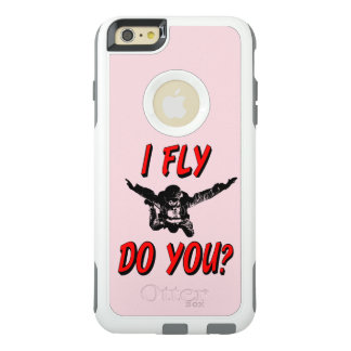 Funda Otterbox Para iPhone 6/6s Plus ¿Vuelo, hace usted? (negro)