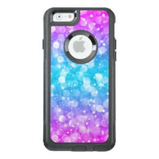 Funda Otterbox Para iPhone 6/6s Purpurina atractivo colorido moderno de Bokeh