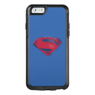 Funda Otterbox Para iPhone 6/6s Símbolo del superhombre del cepillo y del tono