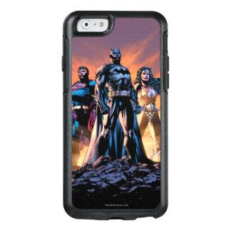 Funda Otterbox Para iPhone 6/6s Superhombre, Batman, y trinidad de la Mujer
