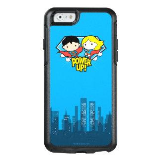 Funda Otterbox Para iPhone 6/6s ¡Superhombre de Chibi y poder de Chibi Supergirl