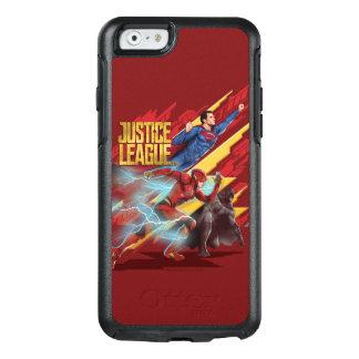 Funda Otterbox Para iPhone 6/6s Superhombre de la liga de justicia el |, flash, y