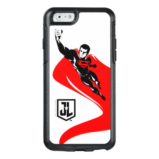 Funda Otterbox Para iPhone 6/6s Superhombre de la liga de justicia el | que vuela