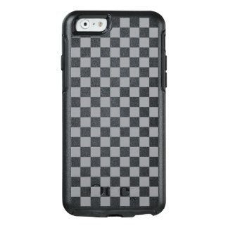 Funda Otterbox Para iPhone 6/6s Tablero de damas gris