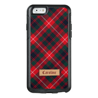 Funda Otterbox Para iPhone 6/6s Tartán rojo femenino de Stewart con la etiqueta