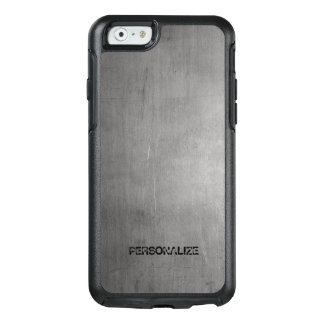 Funda Otterbox Para iPhone 6/6s Textura cepillada del metal