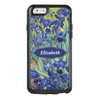 Funda Otterbox Para iPhone 6/6s Van Gogh irisa Monogr personalizado floral