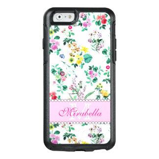 Funda Otterbox Para iPhone 6/6s Wildflowers y rosas amarillos rojos púrpuras
