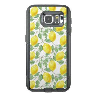 Funda OtterBox Para Samsung Galaxy S6 Árbol de limón fructífero