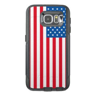 Funda OtterBox Para Samsung Galaxy S6 Barras y estrellas de la bandera de los E.E.U.U.