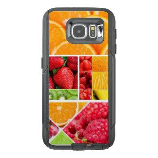 Funda OtterBox Para Samsung Galaxy S6 Collage de la fruta de la mezcla