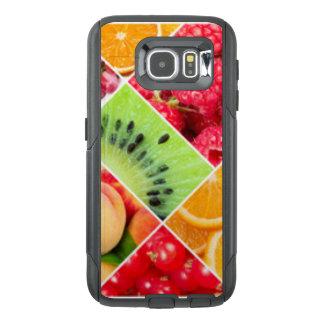 Funda OtterBox Para Samsung Galaxy S6 Diseño colorido del modelo del collage de la fruta