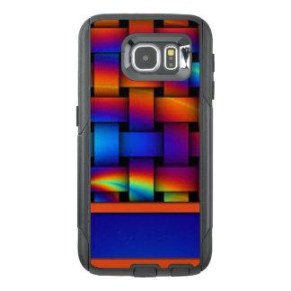 Funda OtterBox Para Samsung Galaxy S6 Diseño del modelo de armadura de cesta