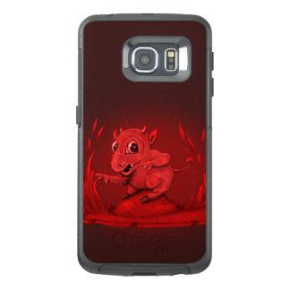 Funda OtterBox Para Samsung Galaxy S6 Edge Borde EXTRANJERO MALVADO de la galaxia S6 de BIDI