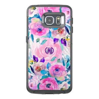Funda OtterBox Para Samsung Galaxy S6 Edge Collage colorido GR7 de las flores de las