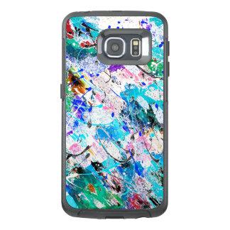Funda OtterBox Para Samsung Galaxy S6 Edge Diseño colorido lindo de la pintura del fresque