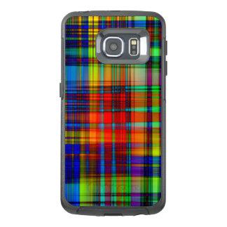 Funda OtterBox Para Samsung Galaxy S6 Edge El extracto colorido raya arte