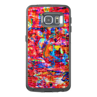 Funda OtterBox Para Samsung Galaxy S6 Edge El extracto multi lindo de los colores agita la