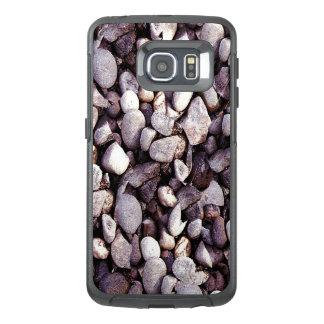 Funda OtterBox Para Samsung Galaxy S6 Edge Novedad minúscula de los guijarros