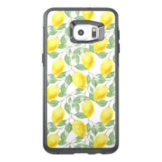Funda OtterBox Para Samsung Galaxy S6 Edge Plus Árbol de limón fructífero