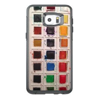 Funda OtterBox Para Samsung Galaxy S6 Edge Plus Caja del teléfono de la acuarela