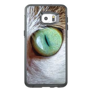 Funda OtterBox Para Samsung Galaxy S6 Edge Plus El ojo de gato verde que cautiva
