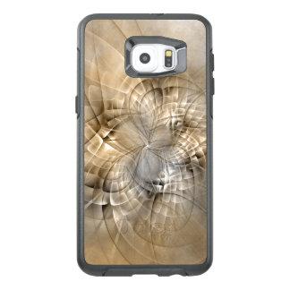 Funda OtterBox Para Samsung Galaxy S6 Edge Plus La tierra entona textura moderna abstracta del
