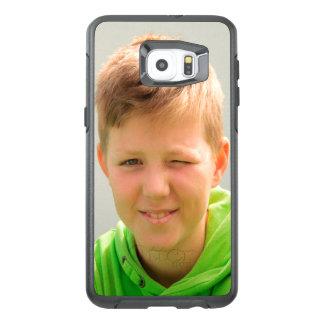 Funda OtterBox Para Samsung Galaxy S6 Edge Plus Los niños de encargo de la foto del tamaño del