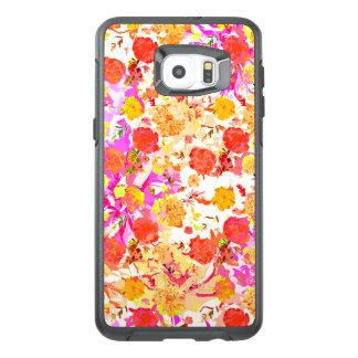 Funda OtterBox Para Samsung Galaxy S6 Edge Plus Modelo de flores lindo del girley