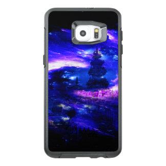 Funda OtterBox Para Samsung Galaxy S6 Edge Plus Sueños Amethyst de Bali del zafiro