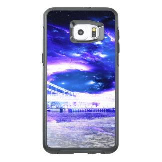 Funda OtterBox Para Samsung Galaxy S6 Edge Plus Sueños Amethyst de Budapest del zafiro