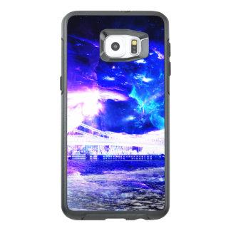 Funda OtterBox Para Samsung Galaxy S6 Edge Plus Sueños Amethyst de Budapest del zafiro de Amorem