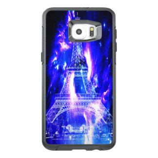 Funda OtterBox Para Samsung Galaxy S6 Edge Plus Sueños Amethyst de París del zafiro