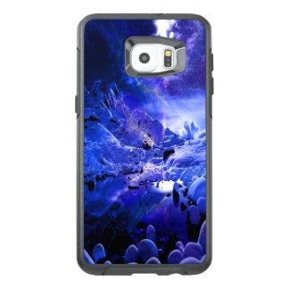 Funda OtterBox Para Samsung Galaxy S6 Edge Plus Sueños de la noche de Yule