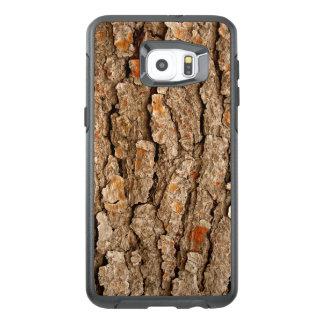 Funda OtterBox Para Samsung Galaxy S6 Edge Plus Textura de la corteza de árbol de pino