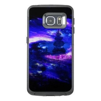 Funda OtterBox Para Samsung Galaxy S6 Edge Sueños Amethyst de Bali del zafiro