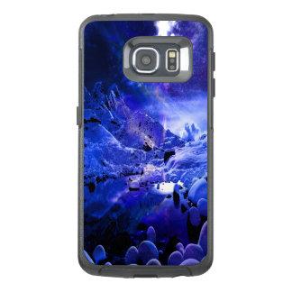 Funda OtterBox Para Samsung Galaxy S6 Edge Sueños de la noche de Yule