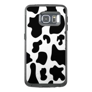 Funda OtterBox Para Samsung Galaxy S6 Edge Vaca blanco y negro