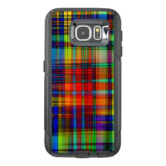 Funda OtterBox Para Samsung Galaxy S6 El extracto colorido raya arte