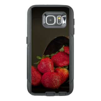 Funda OtterBox Para Samsung Galaxy S6 Fresas rojas dulces