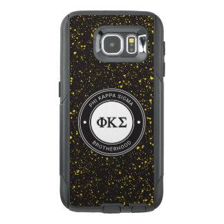 Funda OtterBox Para Samsung Galaxy S6 Insignia de la sigma el   de Kappa de la phi