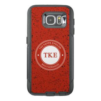 Funda OtterBox Para Samsung Galaxy S6 Insignia del épsilon el | del Tau Kappa