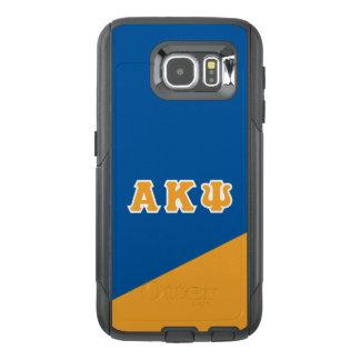 Funda OtterBox Para Samsung Galaxy S6 Letras alfa del Griego de Kappa PSI el |