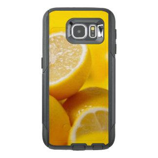 Funda OtterBox Para Samsung Galaxy S6 Limones amarillos