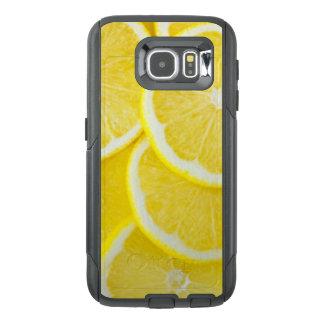 Funda OtterBox Para Samsung Galaxy S6 Limones amarillos de la rebanada