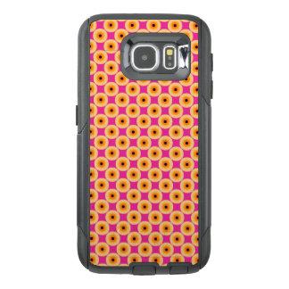 Funda OtterBox Para Samsung Galaxy S6 Lunar rosado amarillo elegante